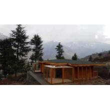 Casa de madera prefabricada de instalación rápida