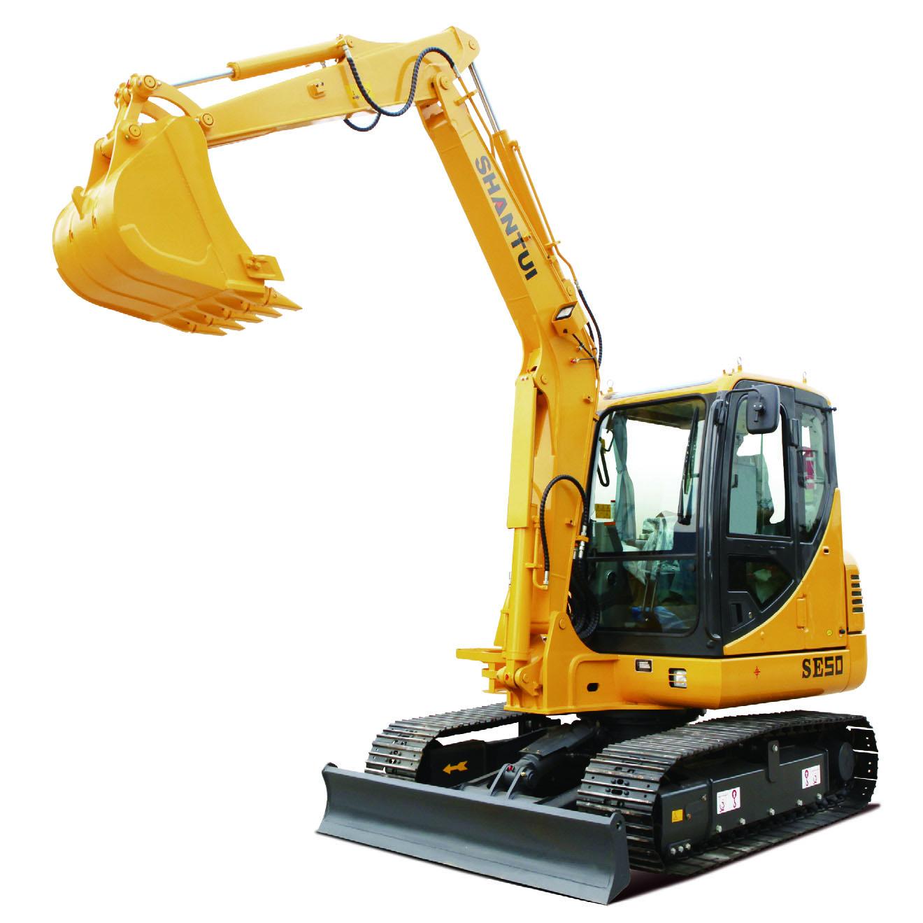 Shantui Small 5.28ton Crawler Excavator