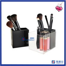 Hot Sale Mini Home Storage Acrylic Brush Container Cosmetic Display
