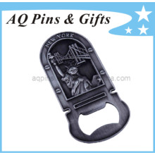 Metal Bottle Opener in Antique Plating