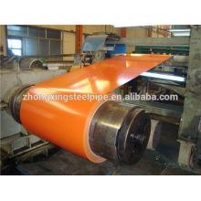 galvanizado / colorida revestida aço bobina laminada