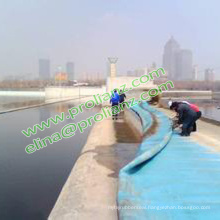 Custom Inflatable Water Rubber Dam to Singapore
