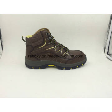 Wearable Genuine Leather Color Optional Outdoor Safety Shoes (16103)