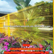 Garden curved fence in store