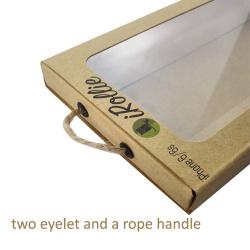 Plain Personal Design Kraft Drawer Gift Paper Box