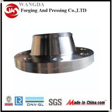 ANSI B16.5 carbone soudure acier cou bride Bride forgée pour Marine