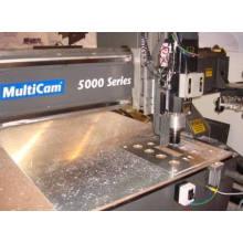 Peças giradas da máquina precisão mecânica de alumínio da máquina do torno do CNC