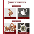 Brinquedos Fidget resistentes à sujeira Fidget Hand Spinner para Spinner Toys