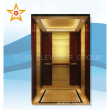 1000~1600KG Hotel Passenger Elevator with luxury cabin                                                                         Quality Choice