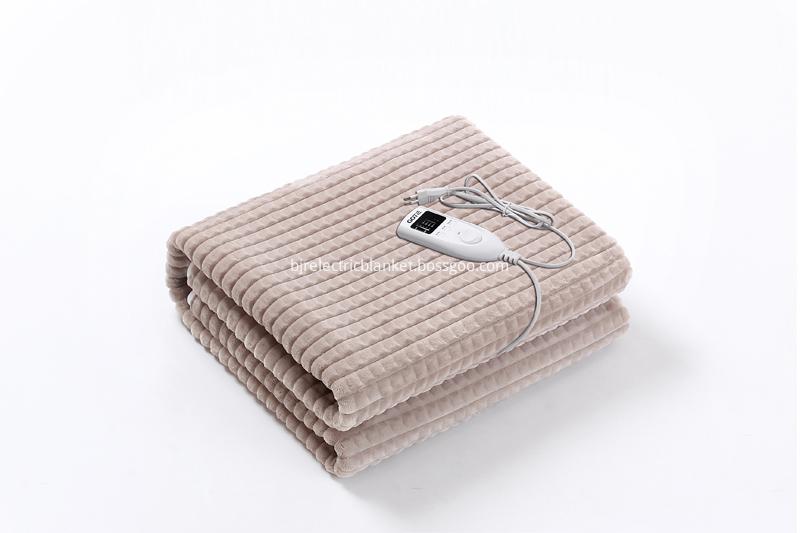 Luxury flannel fleece Fitted Electric Blanket
