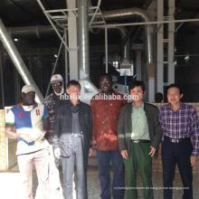 100T / D hohe qualtiy Reispflanze parboiled Reismaschine