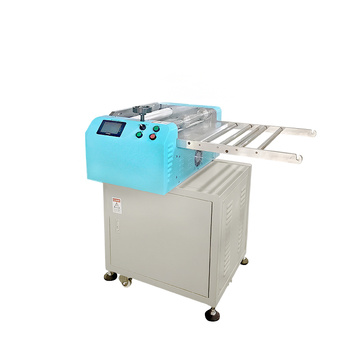 Rubber silicone cutting machine with special knife