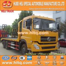 DONGFENG DFL 6X4 camion de transport de machine pedrail 260hp 22tons charge prix chaud à prix réduit en Chine.