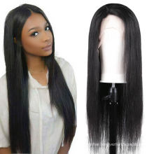 250 Density 100% Curly hd Lace Front Straight Wig Human Hair 40inch Brazilian Transparent Virgin Human Hair Wig Vendors