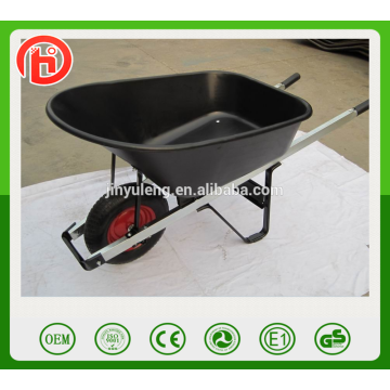 WB7801 large capacity 100L garden, farm wheelbarrow