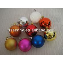 Estoque por atacado de ornamentos de Natal bolas