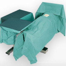 Chirurgische Vorhänge verwenden Spunlace Vliesstoff Sehr atmungsaktiv