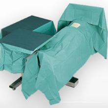 Cortinas Cirúrgicas Use Spunlace Tecido Não-Tecido Muito Respirável