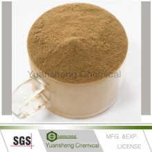 Jinan Yuansheng Lignosulphonate de calcium de liant d'alimentation adapté aux besoins du client