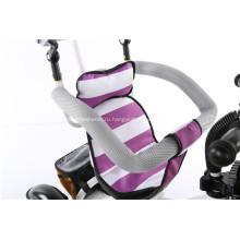 Полезный и красивый Детский трехколесный велосипед резиновые колеса
