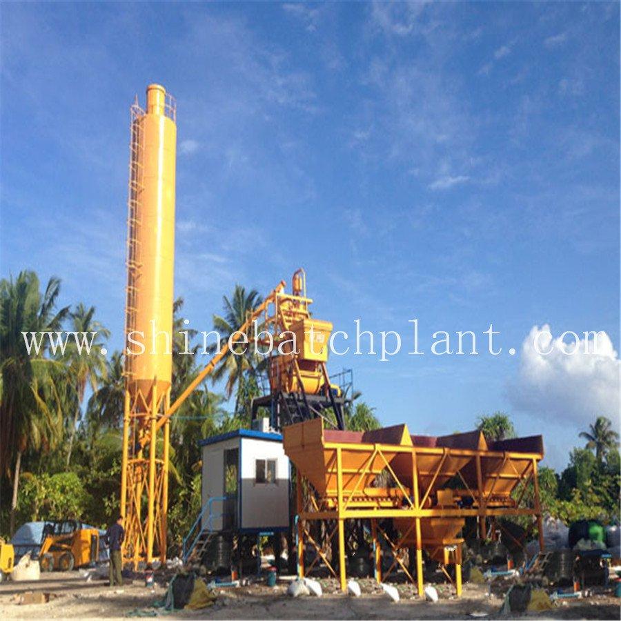 Concrete Mixer Plant Hzs35 1