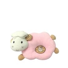 Плюшевая овечья детская подушка Розовый