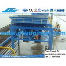 Cargador de carga a granel Cargador de cemento Tren móvil montado en carril