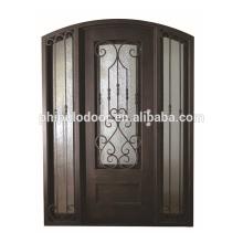 Новый стиль дешевой цене стали Железный дизайн одной двери