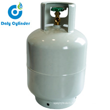Africa 5kg Portable Small Container LPG Gas Cylinder / 5kg BBQ Gas Bottle Propane Tank with Brass Valve