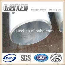 BS1387 гофрированный оцинкованный стальной размер трубы