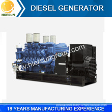 China factory 4160V, 11,000, 6600V, 13800Volts high voltage diesel generator