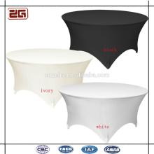 Banquete de encargo de la alta calidad 200GSM usado Tipos de cubiertas de la tabla del hotel