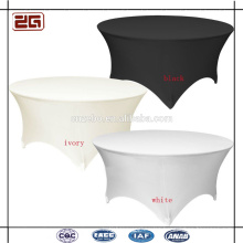 High Quality 200GSM Custom Banquet Used Types of Hotel Table Covers