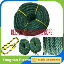 Prix usine 3 brins corde Twist Corde PE recyclé