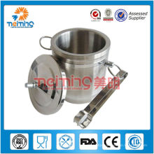 small roud stainless steel buckets 201 for wine