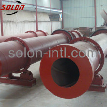 Wood block pallet of fired steam drum dryer