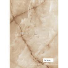 Couleurs de sol en marbre / planchers en plastique 100% imperméables