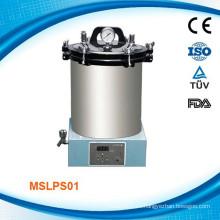 MSLPS01 fabricante / precio / ssupplier del esterilizador de la autoclave del laboratorio 18L / 24L con LED exhibido para la venta