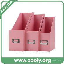 Arquivo de tamanho A4 Suporte de arquivos de desktop Suporte de arquivos de papel de papelão