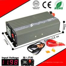 Inversor DC-AC de 500 W Inversor de Onda Senoidal de 12VDC ou 24VDC para 110VAC ou 220VAC