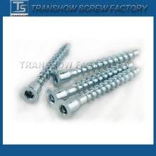 7.0X50 Galvanized Furniture Confirmat Screw