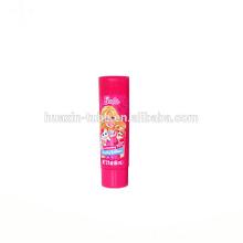 metal pink cute baby face wash plastic packaging tubes cosmetic bpa free tube