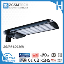 230W LED Cobra Head Street Light with Lm-79 Lm-80