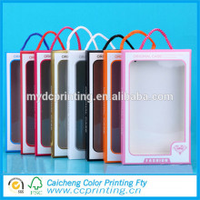 Custom plastic packaging box for cell phone case