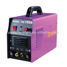 Alta calidad LED digital TIG / MMA máquina TIG160A del inversor de la demostración