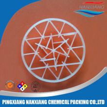 Anneau en plastique de flocon de neige de 95mm emballant (PVC de PE de PVC PVDF CPVC)