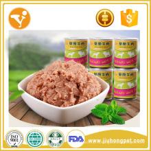 Китай Поставщики Влажная еда для собак Лечит Натуральные консервированные корма для собак