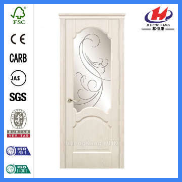 *JHK-008-2 Teak Wood Double Door Designs Beech Wood Interior Doors Wooden Double Doors