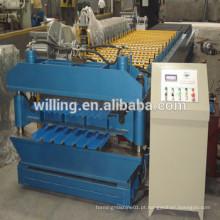 Máquina de formação de rolos para paredes e telhas na China