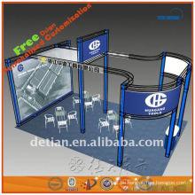 Aluminiumausstellung-Kastenbinder, Messestandanzeige, Binder stehen in China